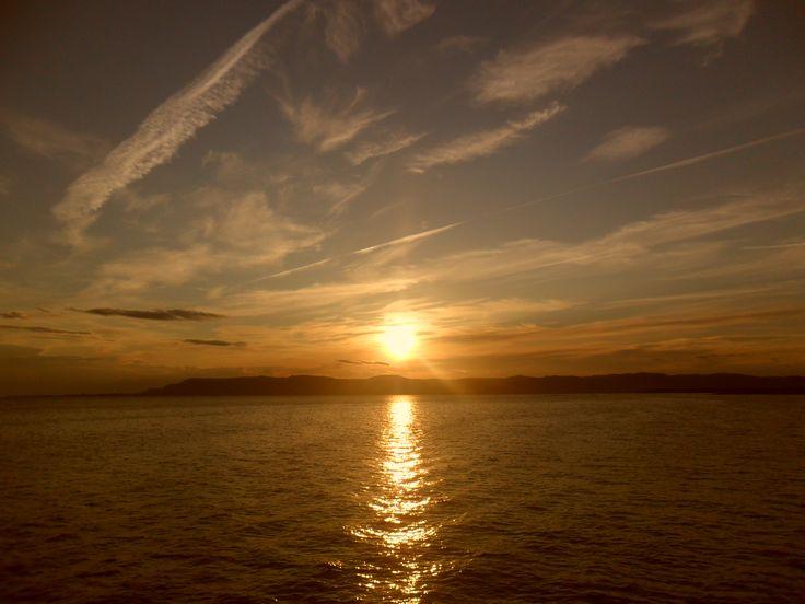 Coucher de soleil en Gaspésie