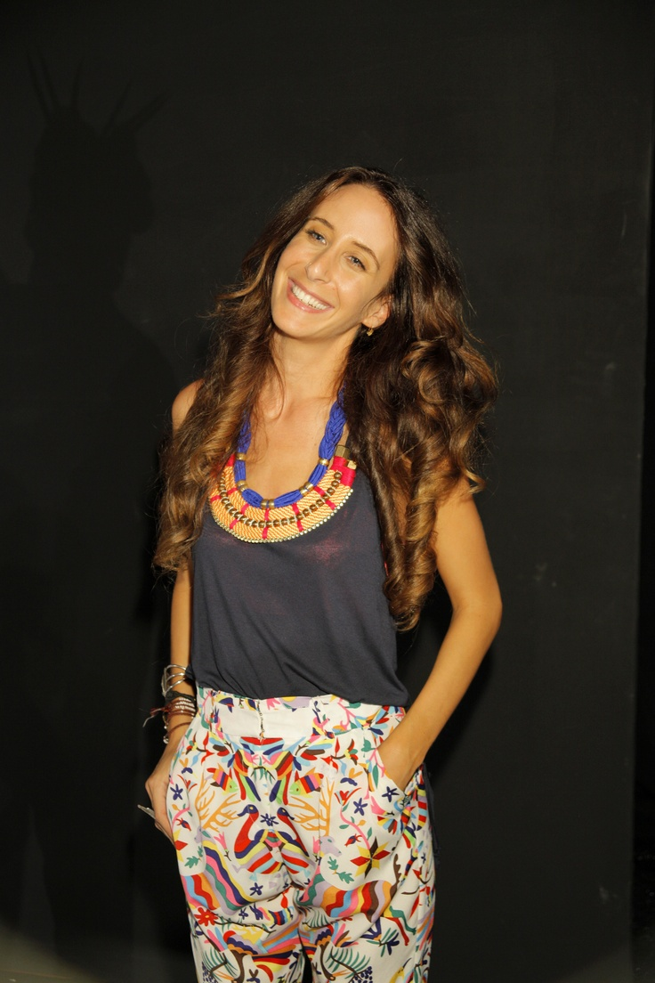 Mara Hoffman. What a babe.: Bohemian Lifestyle, Lee Necklaces, Circus Necklaces, Makeup Bags, Necklaces Rop, Summer Patterns, Babes, Entir Outfits, Colors Twists