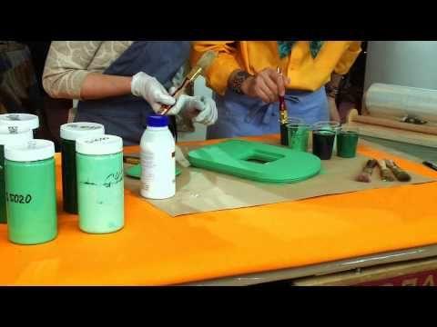 Мастер класс от Марата Ка «Малахитовая фото рамка» - YouTube