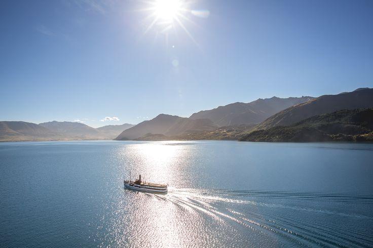 Summer on Queenstown's Lake Wakatipu  Photo: Miles Holden