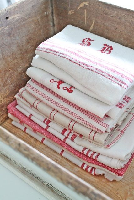 #rouge linen...I love linen. It gets better with every wash and doesn't leave lint on glasses. It's also beautiful.