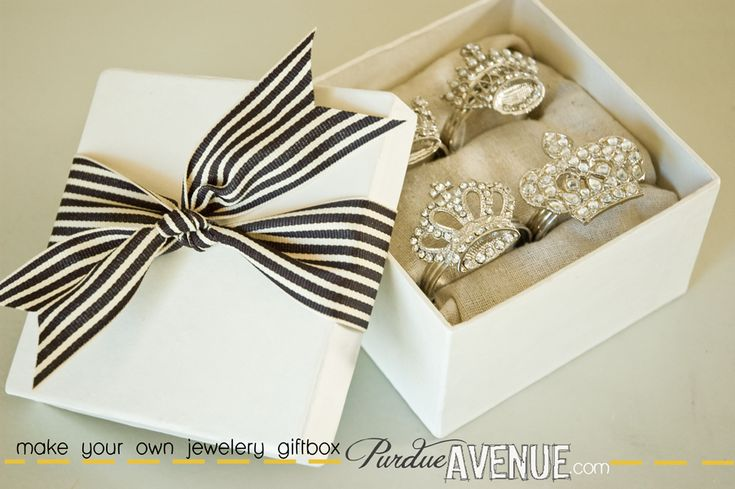 DIY Jewelry Gift Box