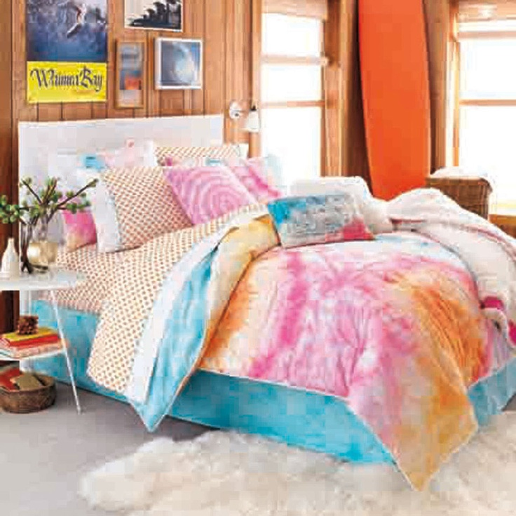 Tie Dye Twin Sheets
