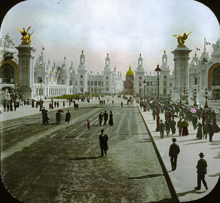 Esplanade des Invalides, Paris, France, 1900