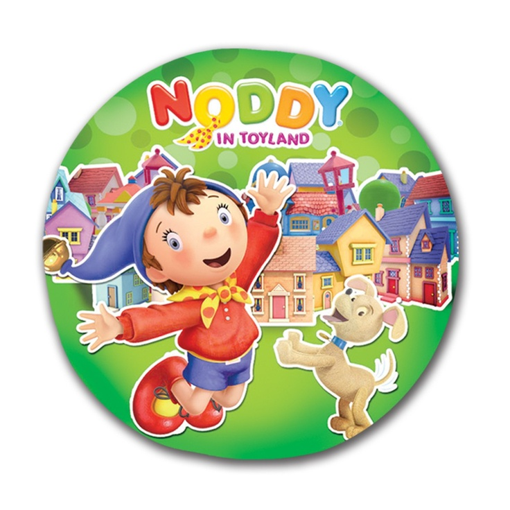 Noddy Circle Shaped Cushion - Noddy & His Pet [TSSTNCCP] - ₹349.00 : Toyzstation.in, The online toys store