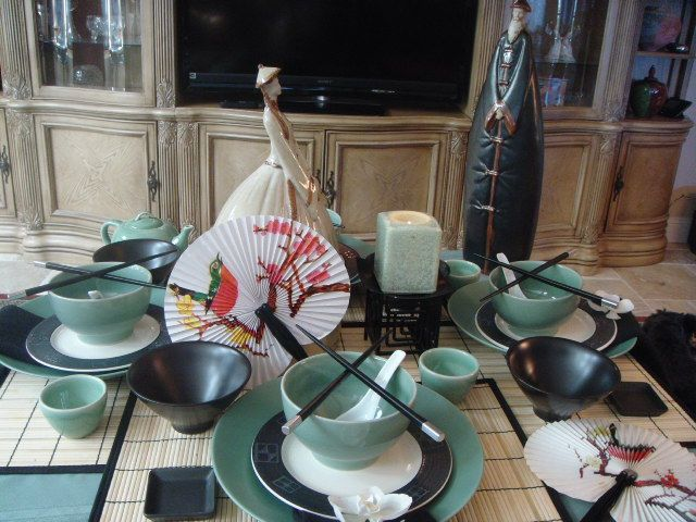 81 Best Ideas About The Asian Inspired Table Setting On