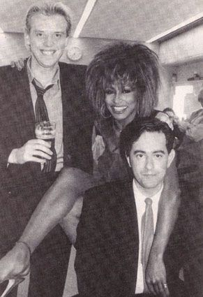 The Heaven 17 with Tina Turner, '80s.