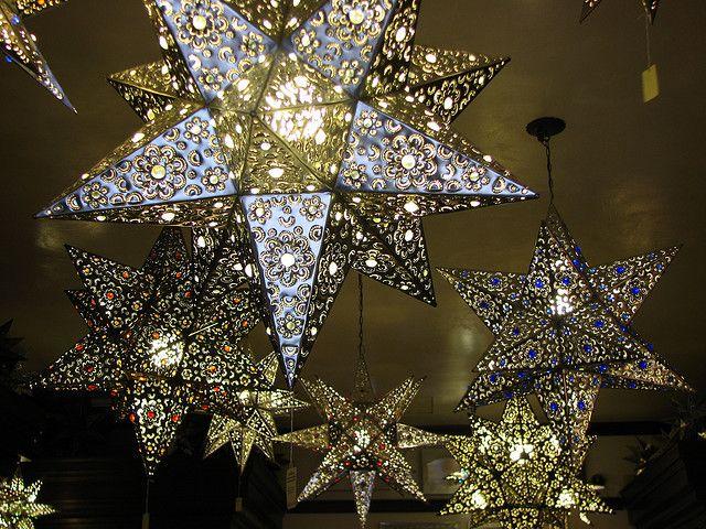 Tin Stars In Old Town Tinsmith