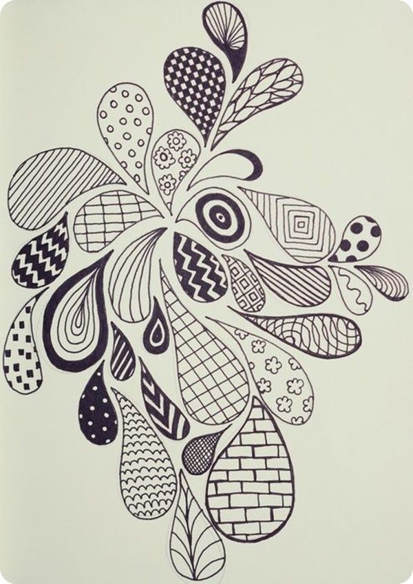 40 Simple And Easy Doodle Art Ideas To Try Easy Doodle Art