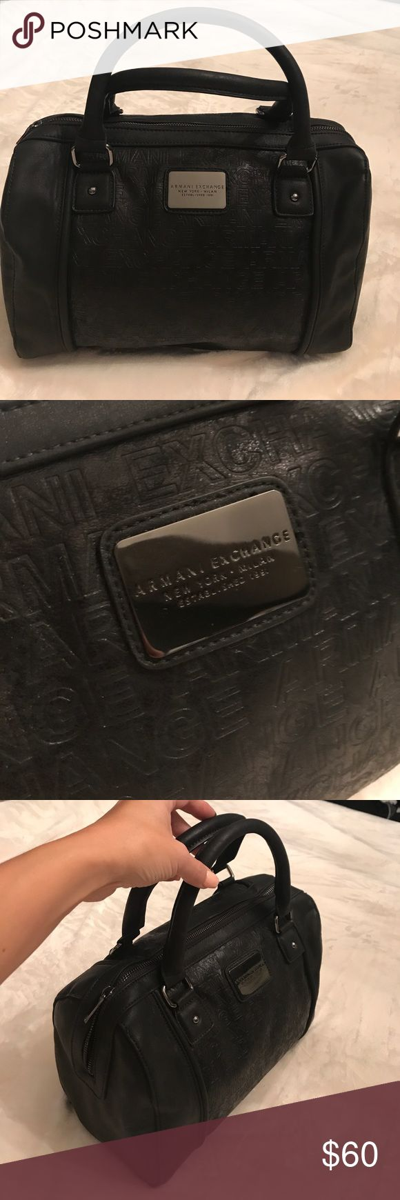 🍁 NWT Armani Exchange black bag 🍁 New with tag Armani Exchange black bag. Armani Exchange Bags Satchels