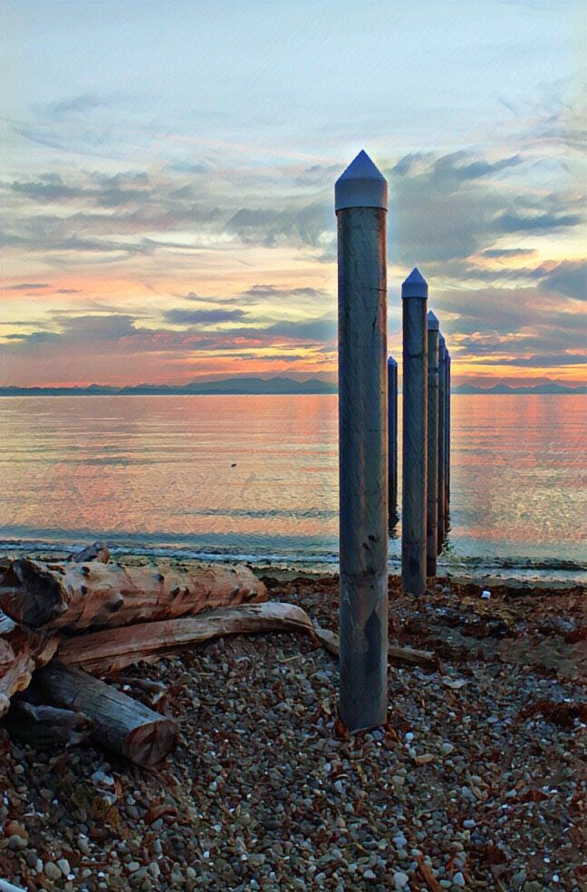 Pacific Ocean - Point Roberts USA - gorgeous sunsets ❤️