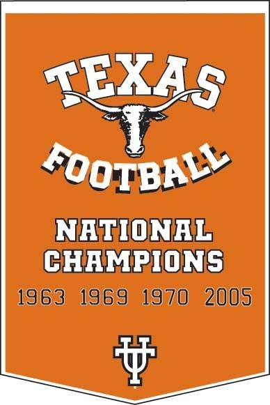 Image detail for -University of Texas Longhorns College Football Dynasty Banner