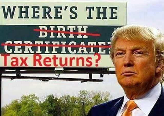 Funny Donald Trump Memes and Viral Images: Where's the Tax Returns?