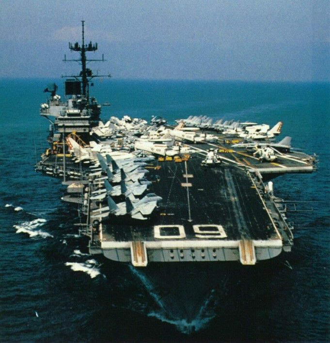 USS Saratoga Carrier Heads Off to Be Scrapped | Military.com