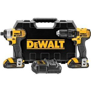 Dewalt DCK280C2 20v Review combo kit combines a 1/2-inch drill/driver and 1/4-inch impact driver.