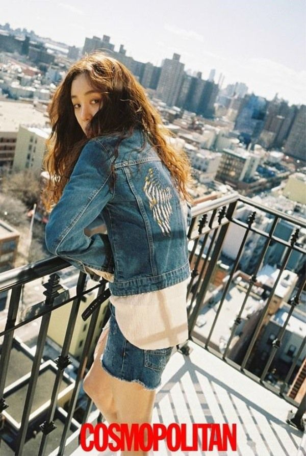 Jung Ryeo Won Rocks New York Photo Shoot for Cosmopolitan | Koogle TV