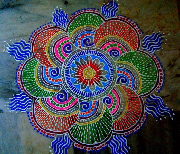 rangoli an introduction of indian art the morning home