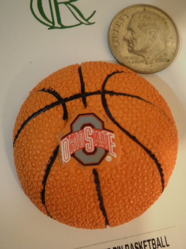 "Ohio State Buckeyes BASKETBALL Magnet 1.5"" NCAA NEW #OhioState"