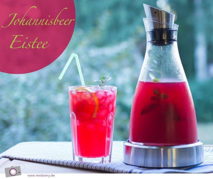 Johannisbeer #Eistee #Rezept