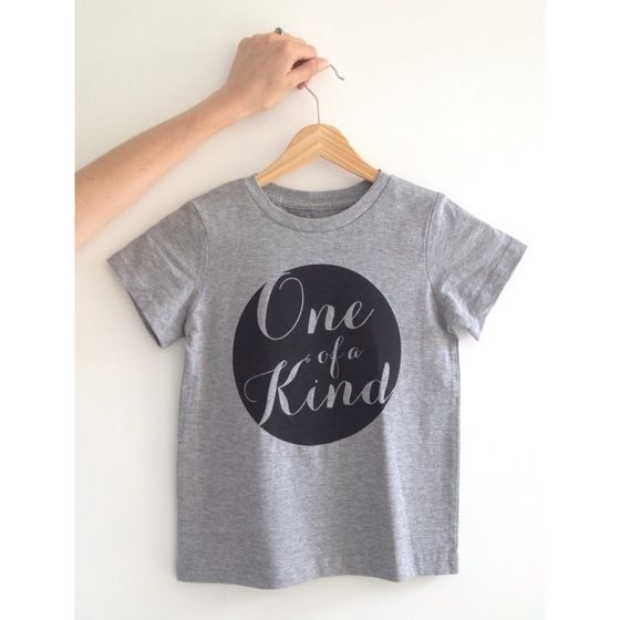 Image of 'One of a Kind' Screen Printed T-shirt