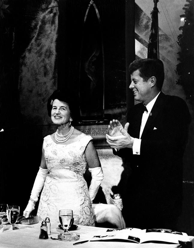 Rose Kennedy | Photo of Rose Kennedy with son President John Kennedy - from JFK ...