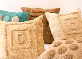 Resultado de imagen para almohadones tejidos al telar