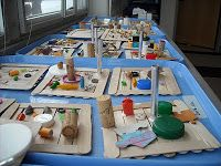 Kindergarten Sculptures Inspired by Louise Nevelson