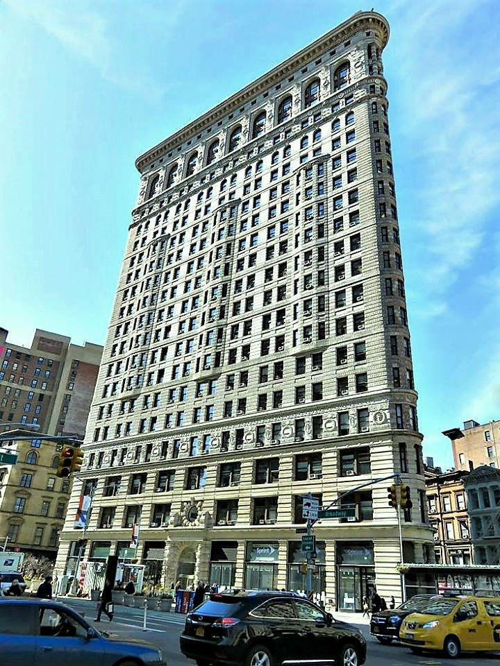Flatiron Building, 175 Fifth Avenue, New York City. March 13, 2015.