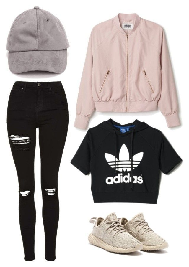 """""""Untitled #1"""" by emmawaglandd ❤ liked on Polyvore featuring Topshop and adidas"""