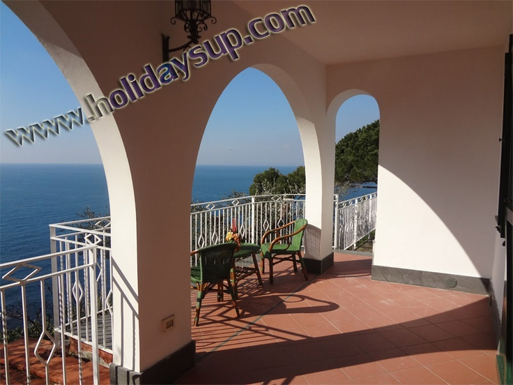 Terrace in a relax place at villa nilly with private swimming pool and Capri Island view More details on: http://www.holidaysup.com  website