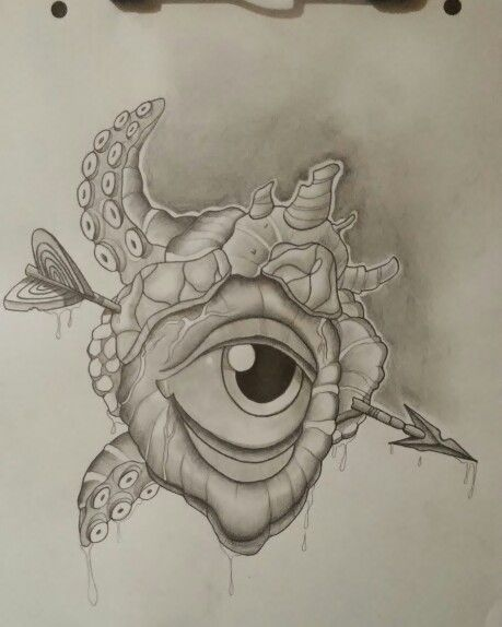 Eye new school artwork