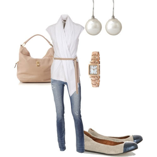 Spring brunch outfit