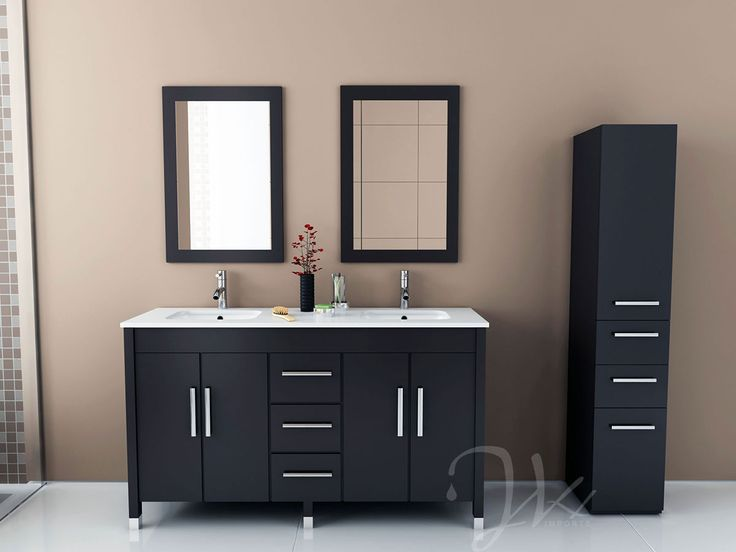 59 Double Sink Vanity Part - 35: JWH Imports Recently Introduced A New Line Of Undermount Bath Vanities.  Many Of These Models