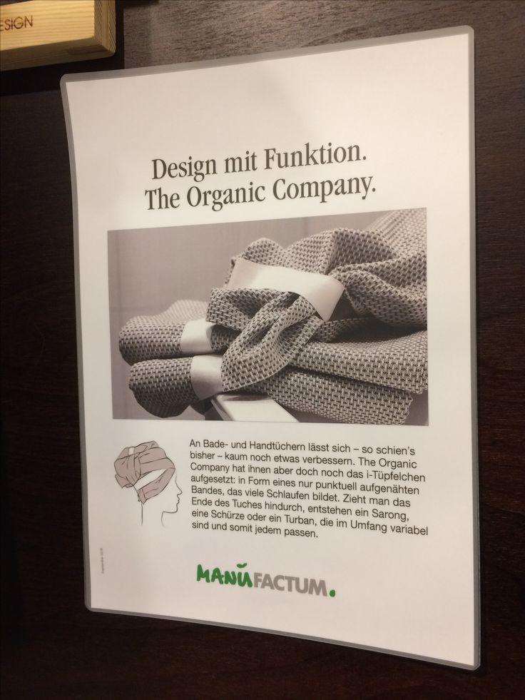 #theorganiccompany #manufactum #organic #towels