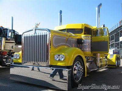 les 40 meilleures images du tableau custom truck sur pinterest camions semi gros camions et semis. Black Bedroom Furniture Sets. Home Design Ideas