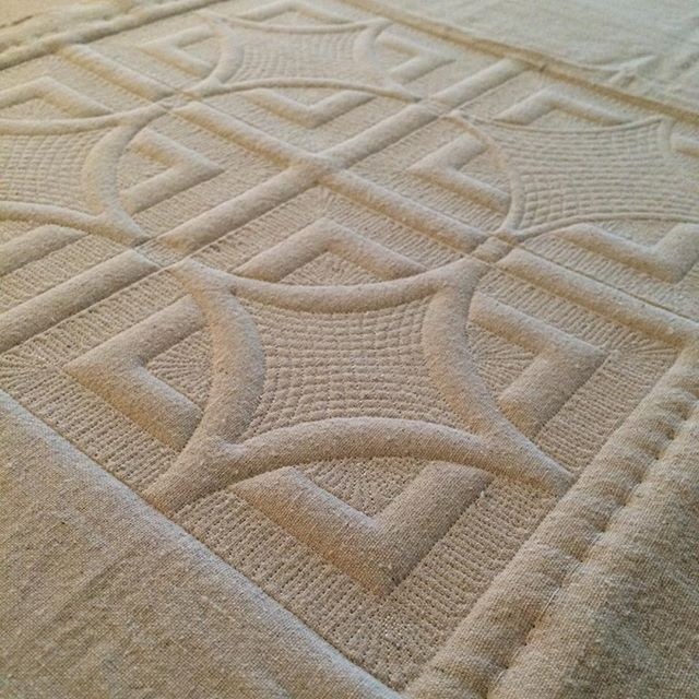 So.. I've been working on stuff.. Like actual quilting stuff.. That will not be seen until next month.. In the meantime, here's a sample that I was working up for it.. Stay tuned.. It's pretty awesome..