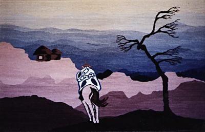 """Returned Home"" Tapestry (Lesotho)"