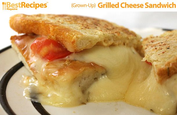 Grown Up) Grilled Cheese Sandwich | Grilled Cheese Sandwiches, Grilled ...