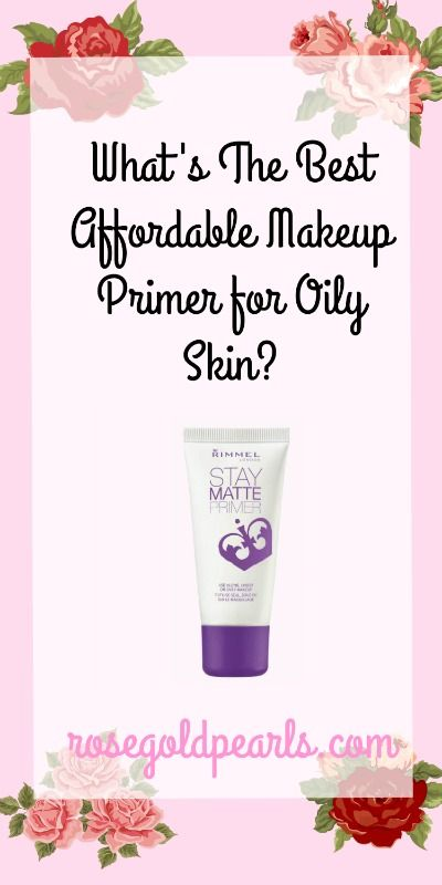 Looking for the best drugstore makeup for oily skin? This is a review of the best affordable makeup primer for oily skin! This is the best primer for oily skin hands down! This cheap and effective primer is for oily skin and large pores.