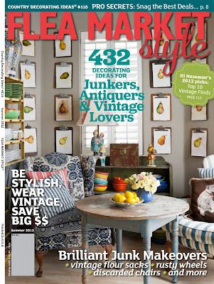 Love Love Flea Market Style!Decor Magazines, Design Magazines, Favorite Magazines, Book Worth, Funky Junk, Style Blog, Style Magazines, Flea Market Style, Fleas Marketing Style
