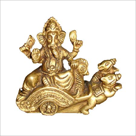 God Lord Ganesh in Chariot
