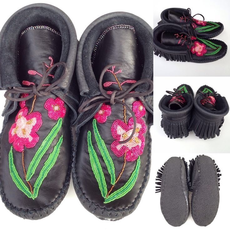 Coming soon! Custom order beaded moccasins:)