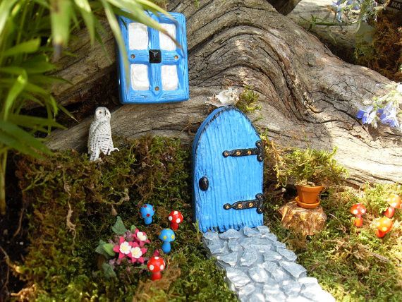 Fairy Garden - Door & Pathway Set