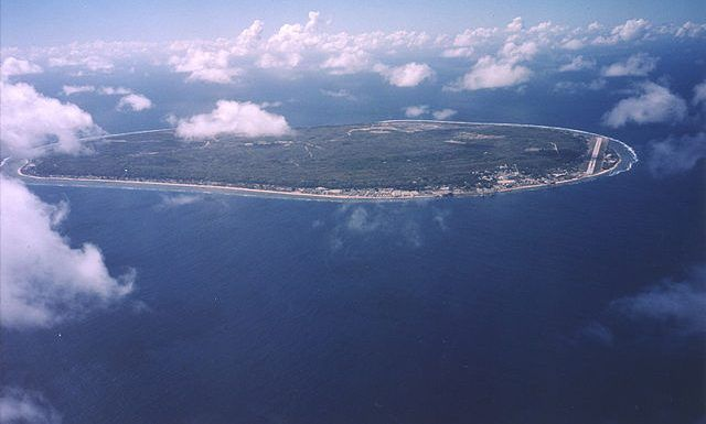 A new travel ban bars ships from the tiny island of Nauru
