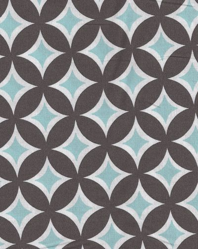 Tonic Living Tweedle Dee Tile Sea 100 Combed Cotton Retro Futon Covers Fabric And Pillows Fabrics Pinterest