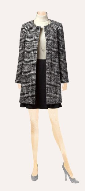 classic coat . #nocollar #tentsilhouette