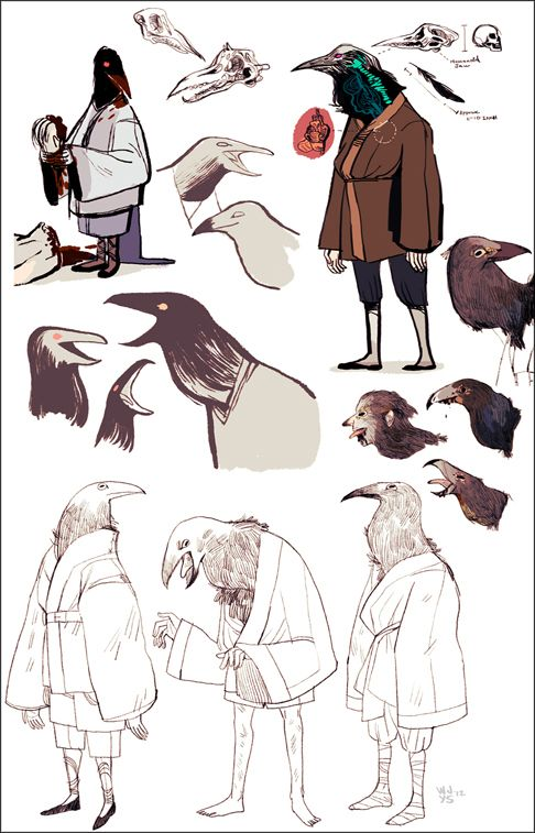 Character Design Page