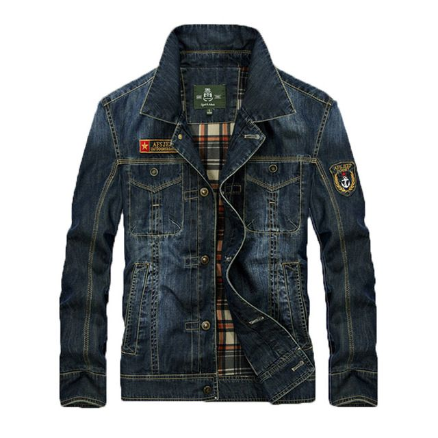 Check lastest price Free Shipping 2016 Hot Sale AFS Jeep Spring Denim Jacket Male Tide Men Casual Jacket  Plus Size S-4XL Z just only $40.00 with free shipping worldwide  #jacketscoatsformen Plese click on picture to see our special price for you