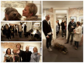 Some great impressions of the opening of the Silk Road Photo & Art Exhibition captured by Sidona!