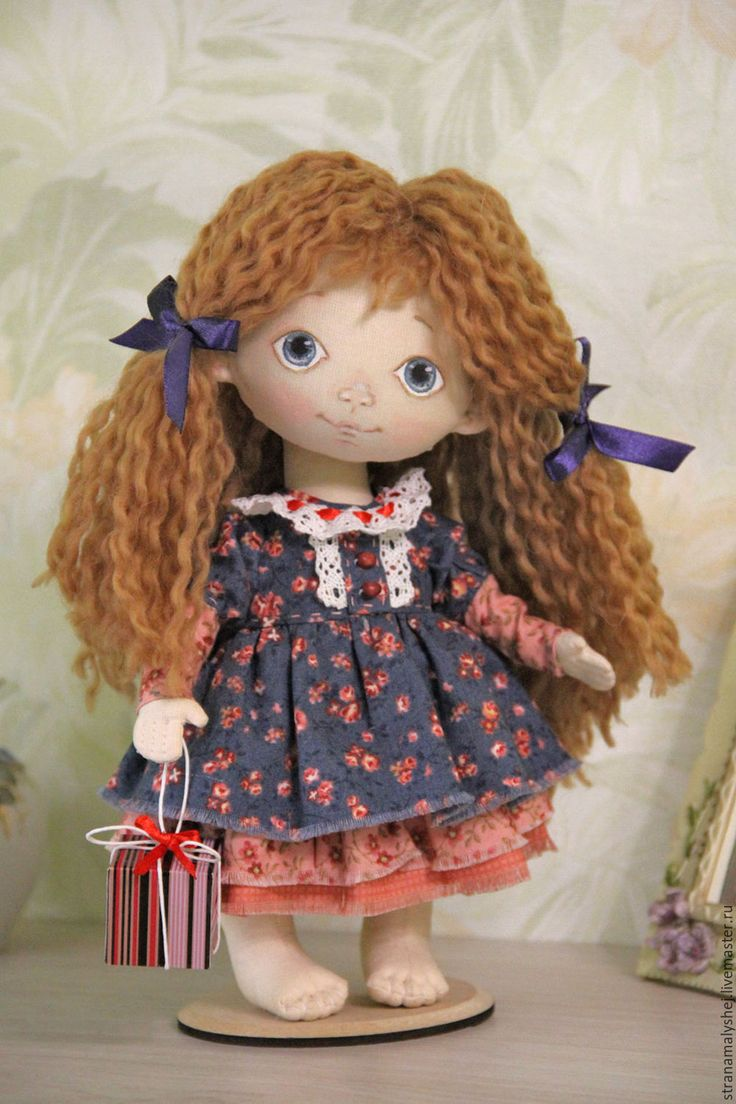 Handmade Little doll Manya - little doll, doll with a soul, barefoot doll